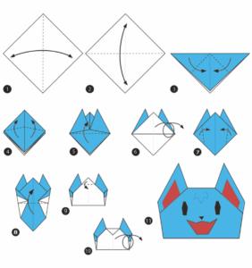 Blitzy's origami