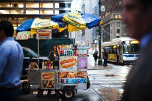 Hot Dog in New York